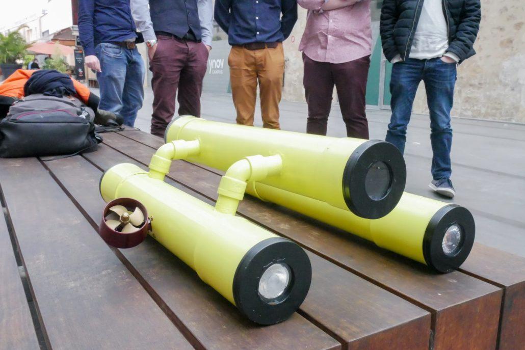 Prototype de Drone Sous Marin Mastere Robotique